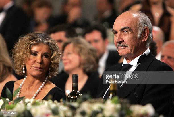 Micheline roquebrune pictures and photos getty images actor sean connery and wife micheline roquebrune laugh during the 34th afi life achievement award tribute altavistaventures Gallery