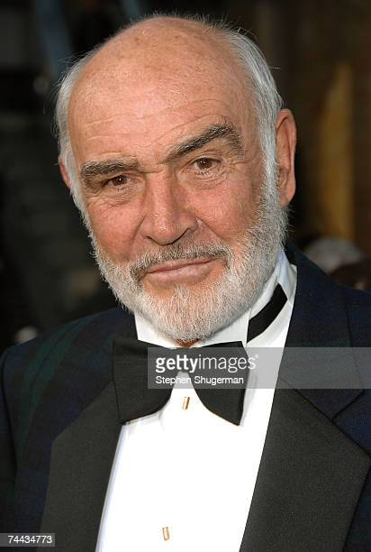 Actor Sean Connery arrives to the 35th AFI Life Achievement Award tribute to Al Pacino held at the Kodak Theatre on June 7, 2007 in Hollywood,...