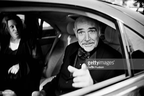 Actor Sean Connery at Cannes Film Festival on May 20 1999 in Cannes France