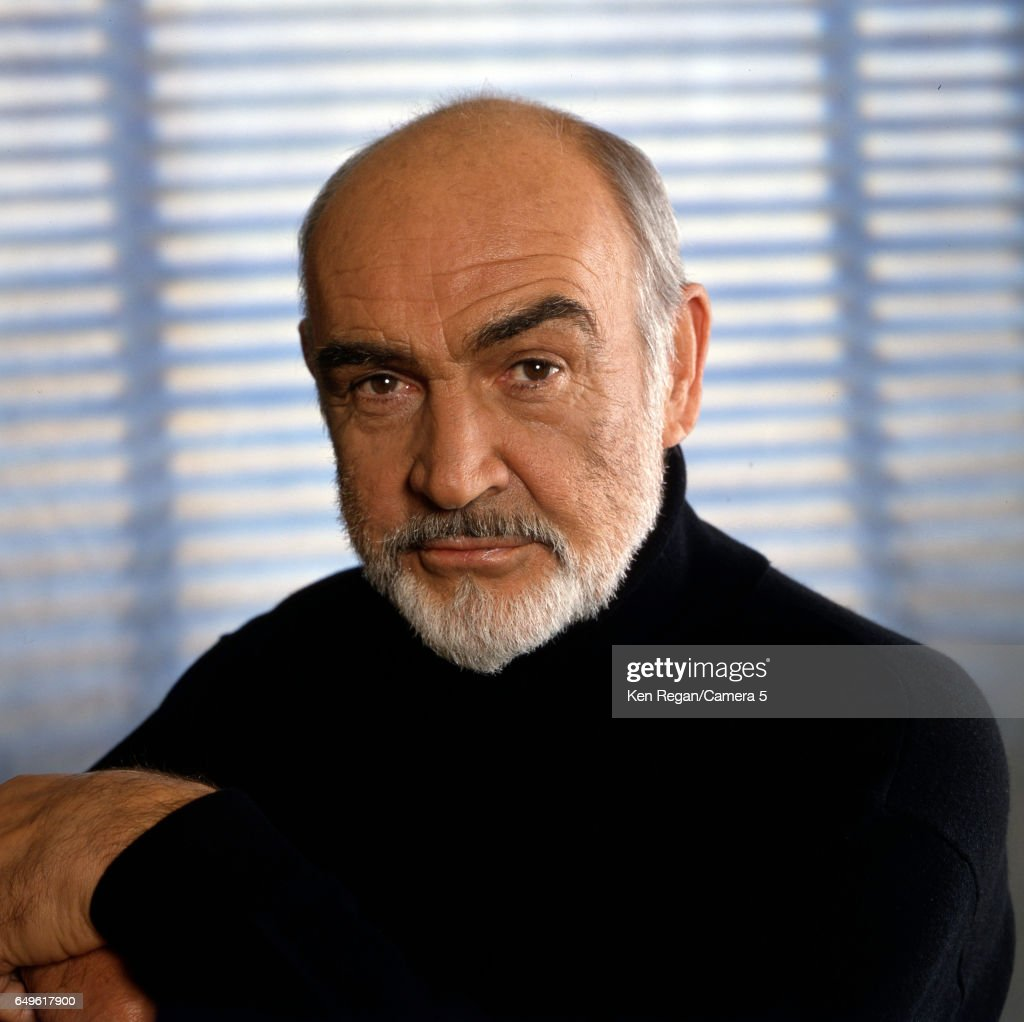 Actor Sean Connery is photographed for Entertainment Weekly Magazine in 1995 in New York, City.