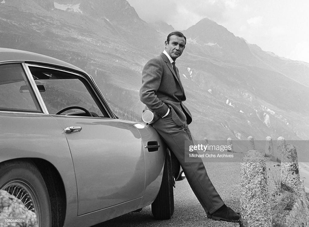 Sean Connery in Goldfinger : Photo d'actualité