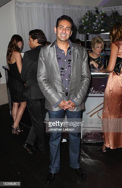 Actor Sean Delon attends Variety and Women in Film PreEMMY Event presented by Saint Vintage at Scarpetta Beverly Hills on September 21 2012 in...