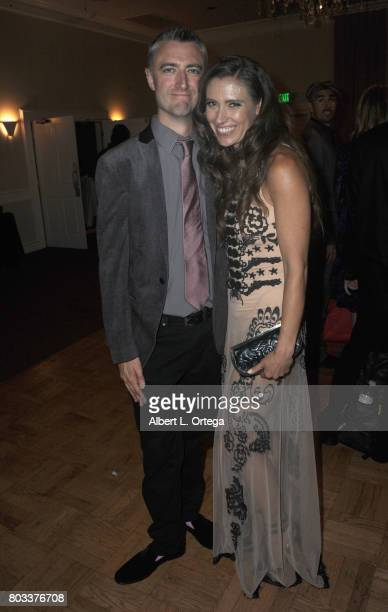 Actor Sean Gunn and actress Natasha Halevi attend the 43rd Annual Saturn Awards After Party held at The Castaway on June 28 2017 in Burbank California
