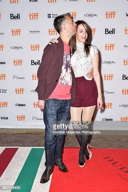 Actor Sean Gunn and guest attend 'The Belko Experiment' premiere during the 2016 Toronto International Film Festival at the Ryerson University...