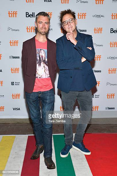 Actor Sean Gunn and writer/producer James Gunn attend the premiere of The Belko Experiment during the 2016 Toronto International Film Festival at...