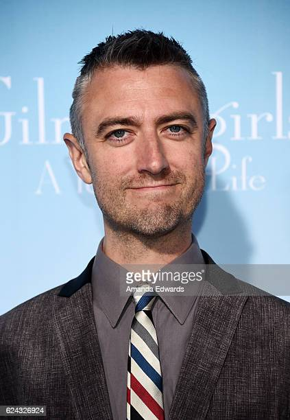 Actor Sean Gunn arrives at the premiere of Netflix's Gilmore Girls A Year In The Life at the Regency Bruin Theatre on November 18 2016 in Los Angeles...