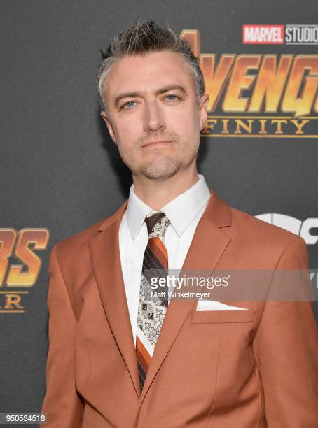 Actor Sean Gunn attends the Los Angeles Global Premiere for Marvel Studios' Avengers Infinity War on April 23 2018 in Hollywood California