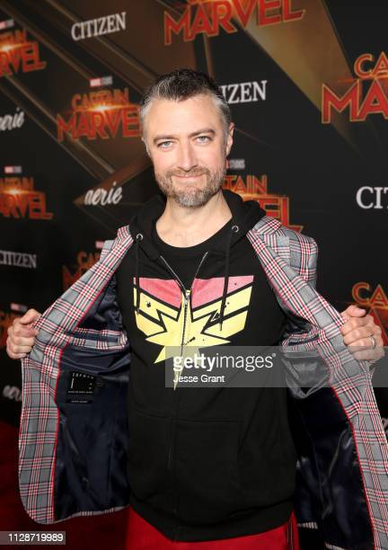 Actor Sean Gunn attends the Los Angeles World Premiere of Marvel Studios' Captain Marvel at Dolby Theatre on March 4 2019 in Hollywood California
