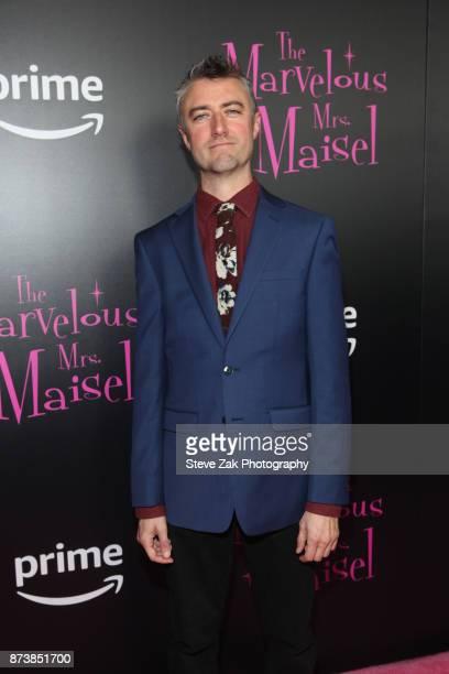 Actor Sean Gunn attends The Marvelous Mrs Maisel New York Premiere at Village East Cinema on November 13 2017 in New York City