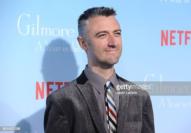 Actor Sean Gunn attends the premiere of Gilmore Girls A Year in the Life at Regency Bruin Theatre on November 18 2016 in Los Angeles California