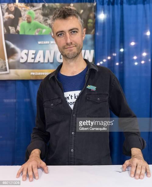 Actor Sean Gunn attends Wizard World Comic Con Philadelphia 2017 Day 3 at Pennsylvania Convention Center on June 3 2017 in Philadelphia Pennsylvania