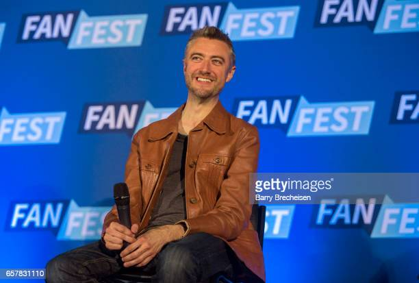 Actor Sean Gunn during the Walker Stalker Con Chicago at the Donald E Stephens Convention Center on March 25 in Rosemont Illinois