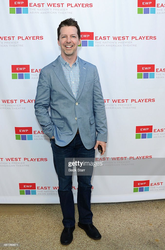 Actor Sean Hayes arrives at Making Light East West Players 48th Anniversary Visionary Awards at Hilton Universal City on April 28, 2014 in Universal City, California.