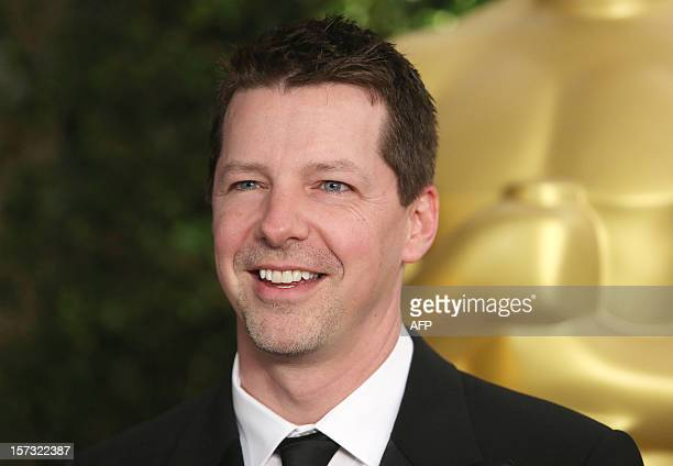 Actor Sean Hayes arrives at the 2012 Governors Awards at the Ray Dolby Ballroom at Hollywood Highland Center in Hollywood California on December 1...