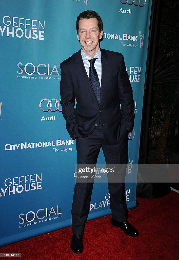 Actor Sean Hayes attends the Backstage at the Geffen annual fundraiser at Geffen Playhouse on March 22, 2014 in Los Angeles, California.