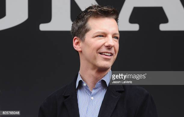 Actor Sean Hayes attends the 'Will Grace' start of production kick off event and ribbon cutting ceremony at Universal City Plaza on August 2 2017 in...