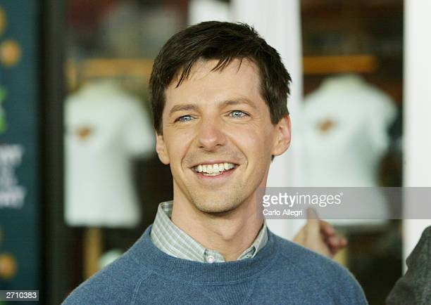 60aec20c Actor Sean Hayes attends the world premiere of Dr Seuss' The Cat in the Hat