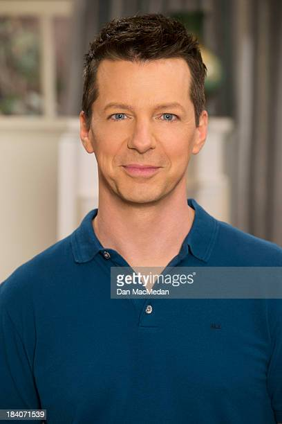 Actor Sean Hayes is photographed for USA Today on September 25 2013 on the set of 'Sean Saves the World' in Universal City California