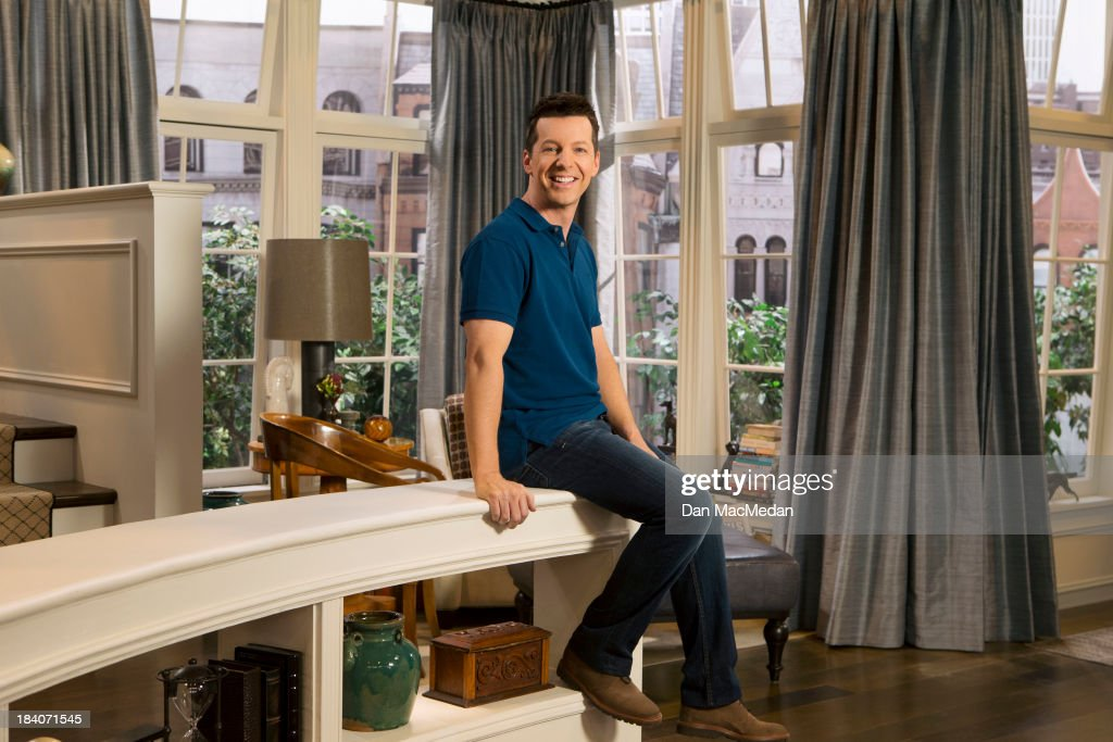 Actor Sean Hayes is photographed for USA Today on September 25, 2013 on the set of 'Sean Saves the World' in Universal City, California. PUBLISHED