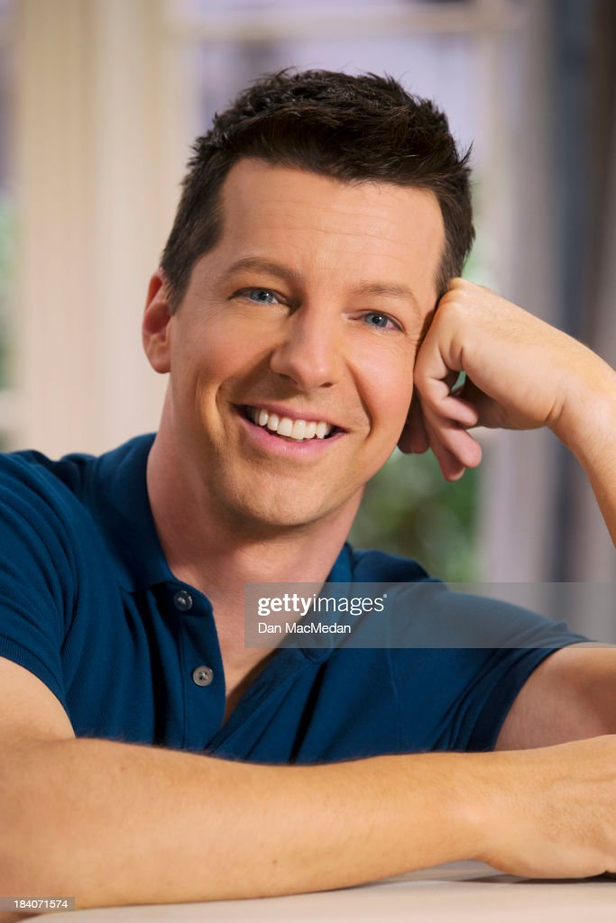 Actor Sean Hayes is photographed for USA Today on September 25, 2013 on the set of 'Sean Saves the World' in Universal City, California.