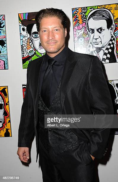 Actor Sean Kanan attends 5th Annual Indie Series Awards held at El Portal Theatre on April 2 2014 in North Hollywood California