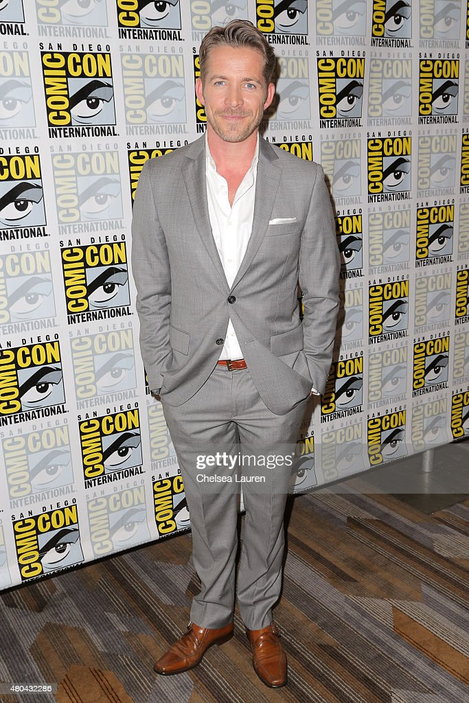 Actor Sean Maguire arrives at the 'Once Upon a Time' press room on July 11, 2015 in San Diego, California.
