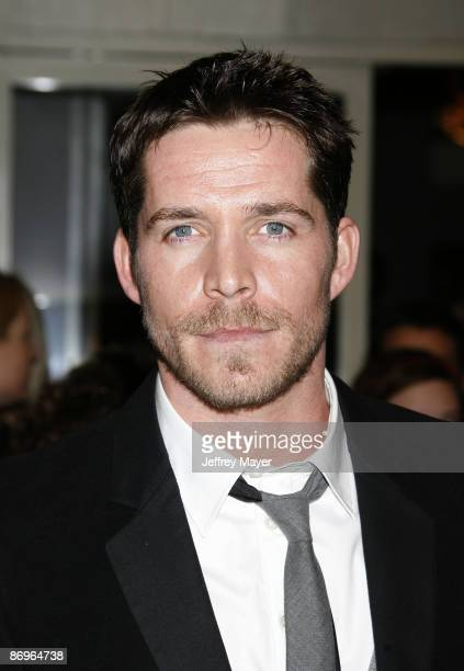 Actor Sean Maguire arrives to the World's First Toga screening of Twentieth Century Fox's 'Meet The Spartans' at the Festival Theater on January 23...