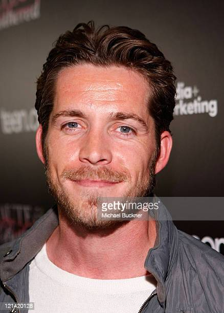Actor Sean Maguire attend the launch party for teencom TV's Haute and Bothered hosted by LG at the Sunset Tower Hotel on May 4 2009 in West Hollywood...