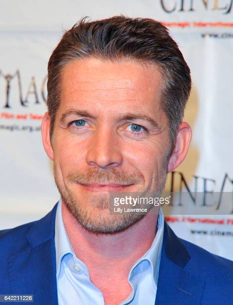 Actor Sean Maguire attends Cinemagic Los Angeles showcase preview of 'Chancer' at Fairmont Miramar Hotel on February 16 2017 in Santa Monica...