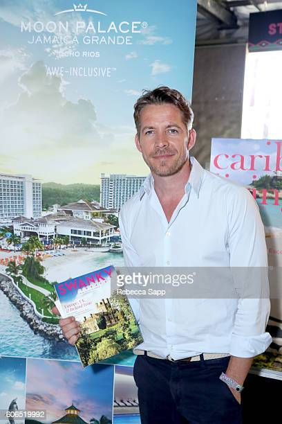 Actor Sean Maguire attends Kari Feinstein's Style Lounge at Siren Studios on September 16 2016 in Hollywood California