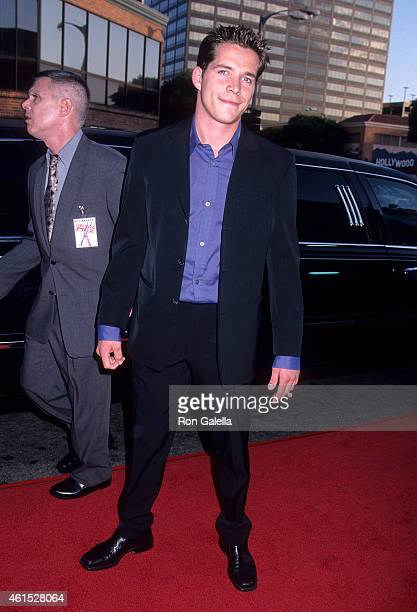 Actor Sean Maguire attends the 'American Pie 2' Westwood Premiere on August 6 2001 at the Mann National Theatre in Westwood California