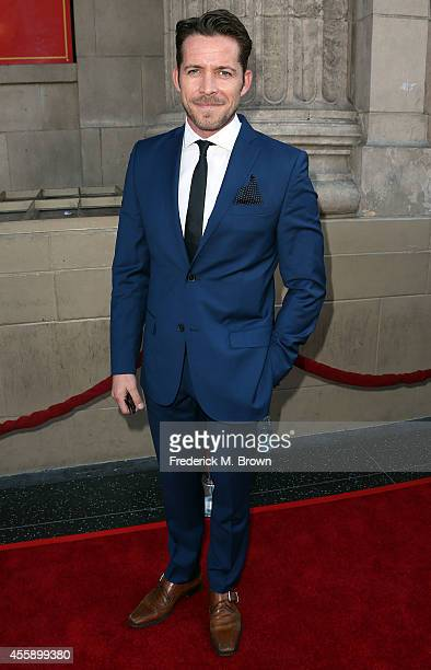 Actor Sean Maguire attends the Screening of ABC's 'Once Upon A Time' Season 4 at the El Capitan Theatre on September 21 2014 in Hollywood California