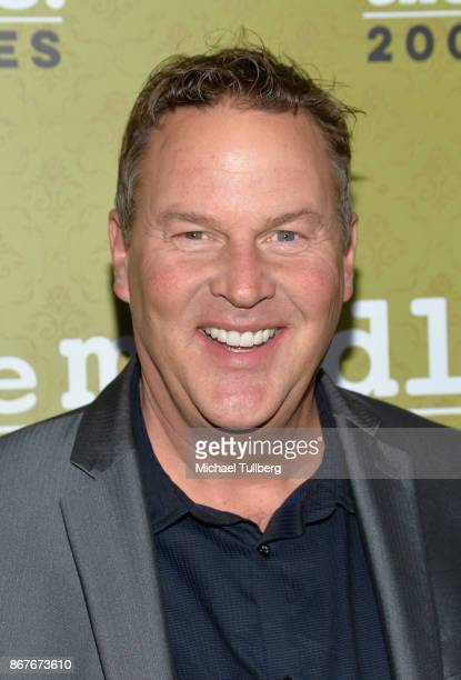 Actor Sean O'Bryan attends ABC's celebration of the 200th episode of The Middle at Fig Olive on October 28 2017 in West Hollywood California