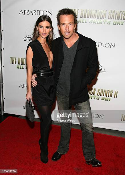 Actor Sean Patrick Flanery and Lauren Michelle Hill arrive for the Los Angeles premiere of 'The Boondock Saints II All Saints Day' at ArcLight...