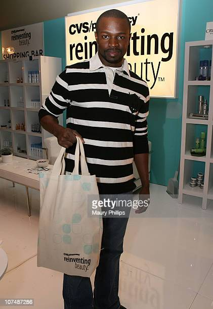 Actor Sean Patrick Thomas with CVS at the Access Hollywood Stuff You Must Lounge Presented by On 3 Productions at Sofitel Hotel on January 12 2008 in...