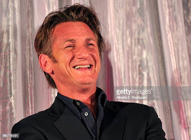 Actor Sean Penn at AARP Magazine's 9th Annual Movies for Grownups Awards at The Beverly Wilshire Hotel on February 16 2010 in Beverly Hills California