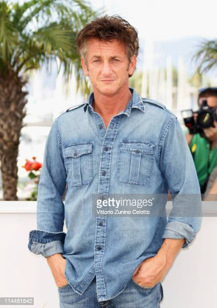 Actor Sean Penn attend sthe 'This Must Be The Place' photocall during the 64th Annual Cannes Film Festival at Palais des Festivals on May 20 2011 in...