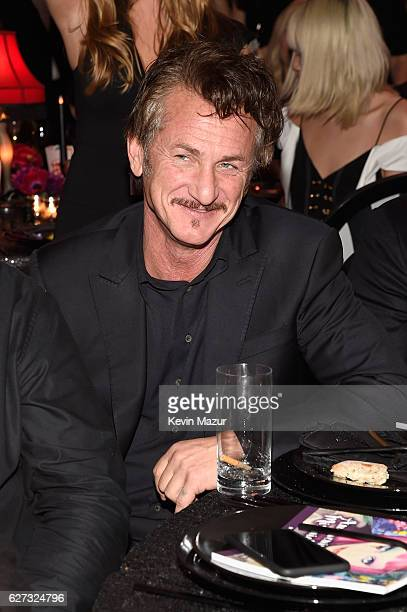 Actor Sean Penn attends An Evening of Music Art Mischief and Performance to benefit Raising Malawi presented by Madonna at Faena Forum on December 2...