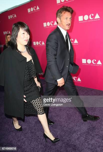 Actor Sean Penn attends the 2017 MOCA Gala at The Geffen Contemporary at MOCA on April 29 2017 in Los Angeles California