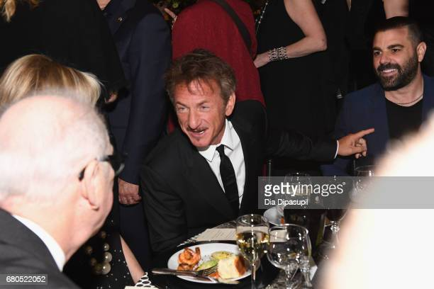 Actor Sean Penn attends the 44th Chaplin Award Gala at David H Koch Theater at Lincoln Center on May 8 2017 in New York City