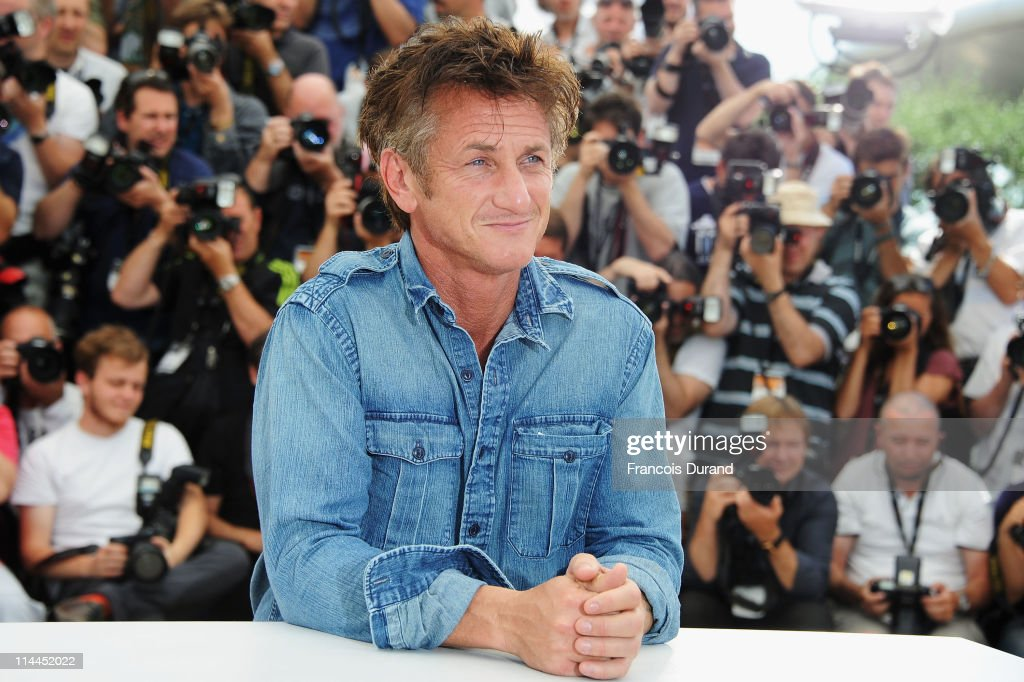 Actor Sean Penn attends the 'This Must Be The Place' photocall during the 64th Annual Cannes Film Festival at Palais des Festivals on May 20, 2011 in Cannes, France.