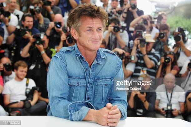 Actor Sean Penn attends the 'This Must Be The Place' photocall during the 64th Annual Cannes Film Festival at Palais des Festivals on May 20 2011 in...