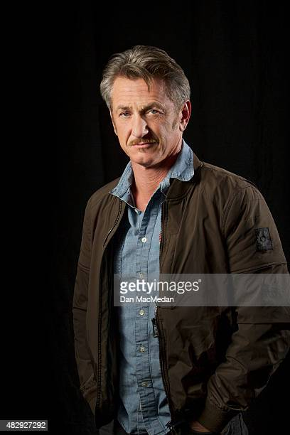 Actor Sean Penn is photographed for USA Today on March 7 2015 in Los Angeles California