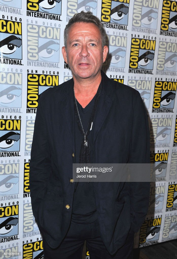 Actor Sean Pertwee at the 'Gotham' Press Line during Comic-Con International 2017 at Hilton Bayfront on July 22, 2017 in San Diego, California.