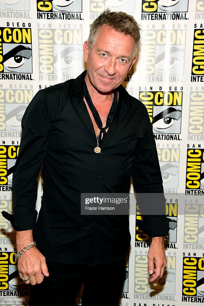 Actor Sean Pertwee attends the 'Gotham' press line during Comic-Con International 2016 at Hilton Bayfront on July 23, 2016 in San Diego, California.