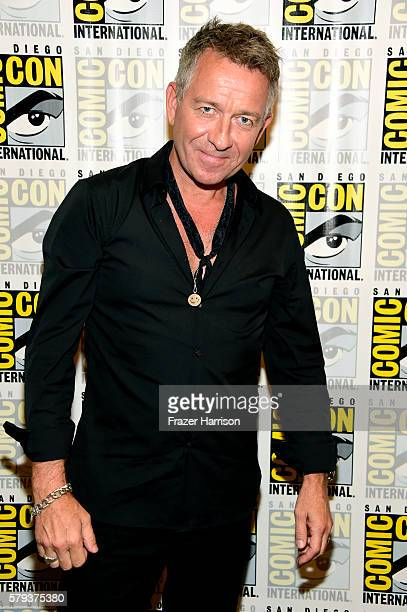 Actor Sean Pertwee attends the 'Gotham' press line during ComicCon International 2016 at Hilton Bayfront on July 23 2016 in San Diego California