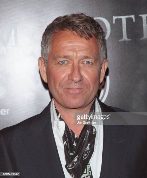 Actor Sean Pertwee attends the 'Gotham' Series Premiere at The New York Public Library on September 15 2014 in New York City