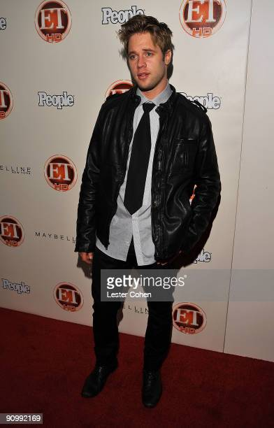 Actor Sean Sippos arrives at the 13th Annual Entertainment Tonight and People Magazine Emmys After Party at the Vibiana on September 20, 2009 in Los...