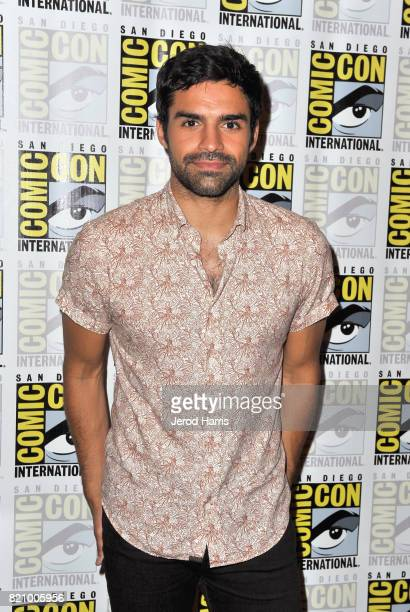 Actor Sean Teale at 'The Gifted' Press Line during ComicCon International 2017 at Hilton Bayfront on July 22 2017 in San Diego California