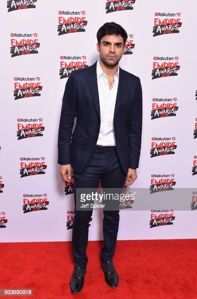 Actor Sean Teale attends the Rakuten TV EMPIRE Awards 2018 at The Roundhouse on March 18 2018 in London England